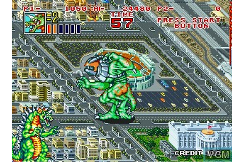 King of the Monsters 2 - The Next Thing for SNK NeoGeo ...