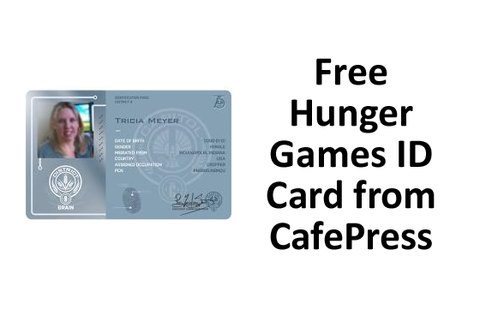Get Your Free Physical Hunger Games ID Card