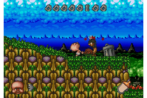 Chuck Rock II Son of Chuck Sega CD Game