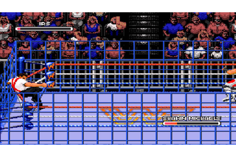 WWF Rage in the Cage finishers (Sega CD) - YouTube