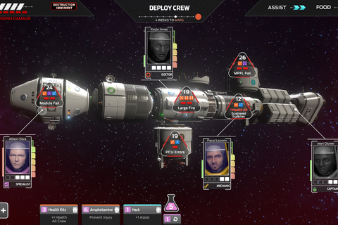 Tharsis is a video game about life's mundane decisions ...