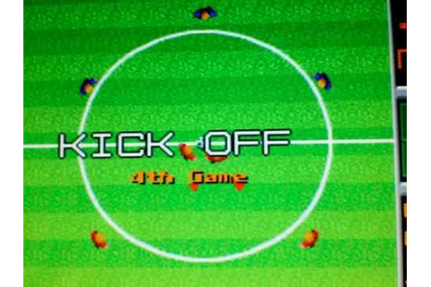 #Juegos: Tehkan World cup classic gameplay mame -futbol ...