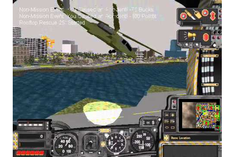 SimCopter Nuclear Meltdown - YouTube
