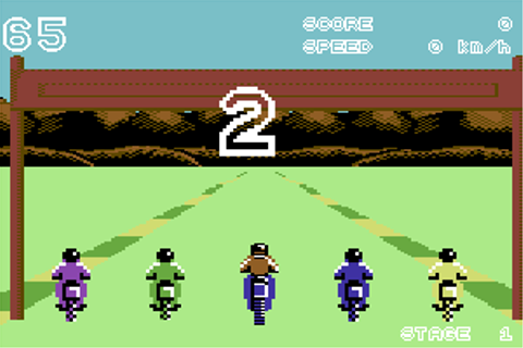 Download Enduro Racer (Amstrad CPC) - My Abandonware