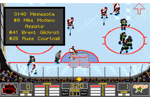 Download NHL Hockey 94 | Abandonia