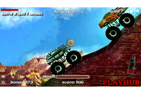 Truck Wars - Car War Games - Flash Game Preview PART/2 ...