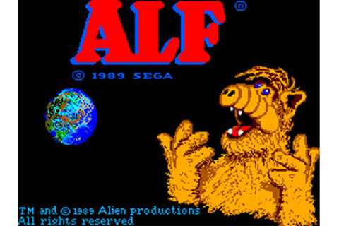ALF Review for Master System (1989) - Defunct Games