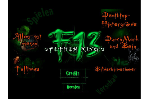 Stephen King's F13: Ctrl, Alt, ...Shiver Screenshots for ...