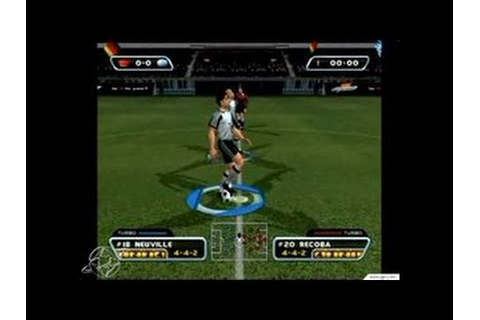 RedCard 20-03 GameCube Gameplay - More kicking - YouTube