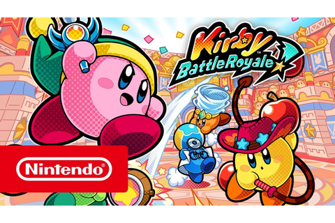 Kirby Battle Royale – Launch Trailer (Nintendo 3DS) - YouTube