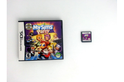 MySims Party game for Nintendo DS | The Game Guy