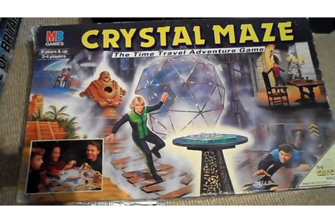 Overview of VINTAGE Rare Crystal Maze board game - YouTube