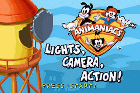 Play Animaniacs - Lights, Camera, Action! Nintendo Game ...