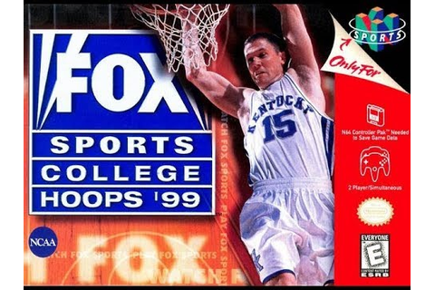 Fox Sports College Hoops '99 (Nintendo 64) - YouTube