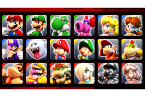 Mario Sports Superstars - All Characters Unlocked ...