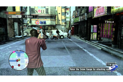 Yakuza: Dead Souls - Review - YouTube