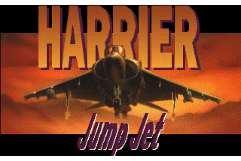 Harrier Jump Jet (1992) by Microprose MS-DOS game
