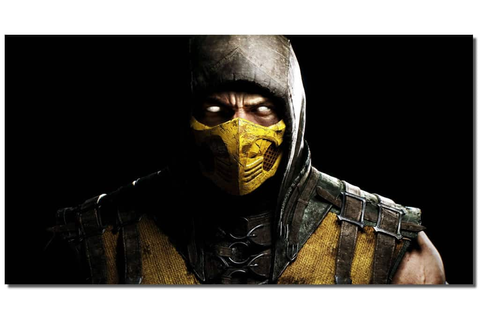 Mortal Kombat X Scorpion Video Games Wall Canvas Art ...