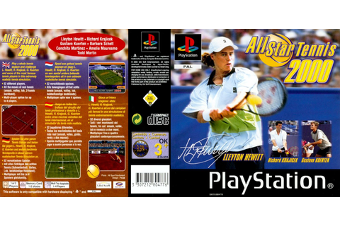 0 to Z of Playstation 1 Games - All Star Tennis 2000