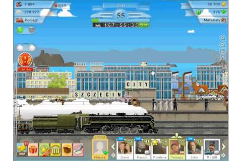 Train Station The Game of Rails Gameplay #5 - YouTube