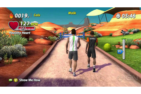 EA Sports Active 2: Jogging Gameplay - YouTube