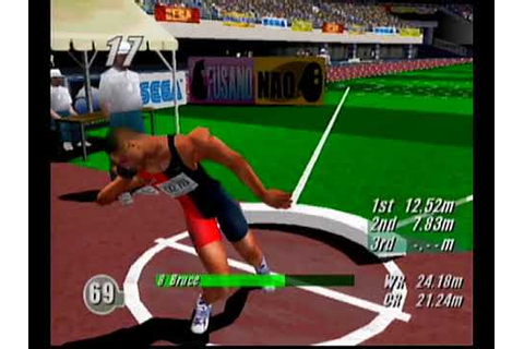 Virtua Athlete 2000 Dreamcast Gameplay - YouTube