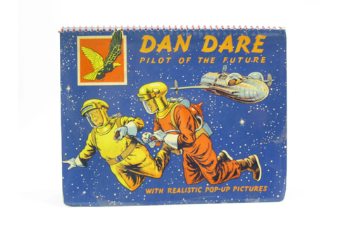 DAN DARE PILOT OF THE FUTURE WITH REALISTIC POP-UP ...