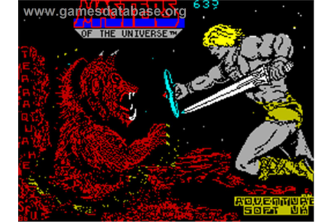 Masters of the Universe: Super Adventure - Sinclair ZX ...