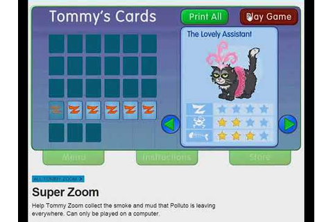 Cbeebies Tommy Zoom Superzoom Game - YouTube
