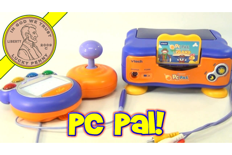 VTech VSmile Electronic TV Learning System PC Pal Island ...