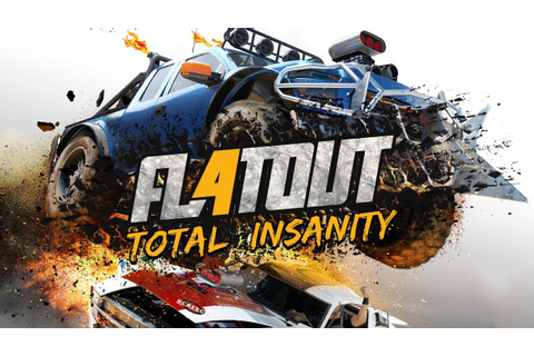 FlatOut 4 - Total Insanity : Conferindo o Game - YouTube