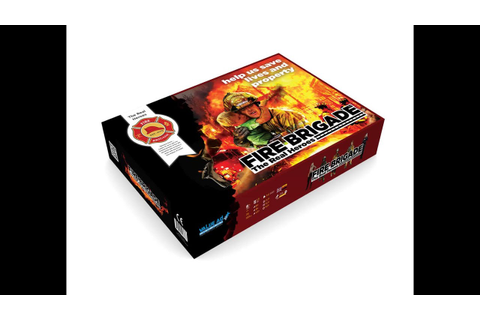 Fire Brigade - board game - Advanced rules demo - YouTube