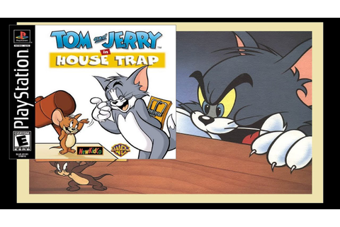 Tom and Jerry in House Trap PlayStation original game ...