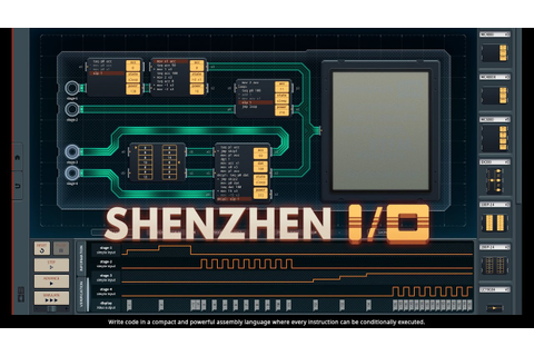 SHENZHEN I/O - Download (game by Zachtronics 2016) - YouTube