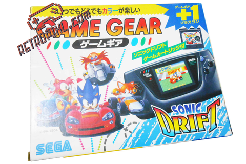 Sega Game Gear Sonic Drift Bundle – RetroPixl