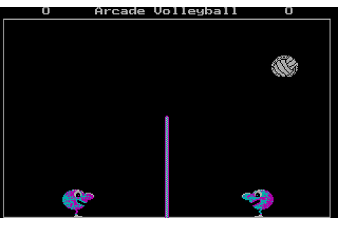 Play Arcade Volleyball online - PlayDOSGames.com