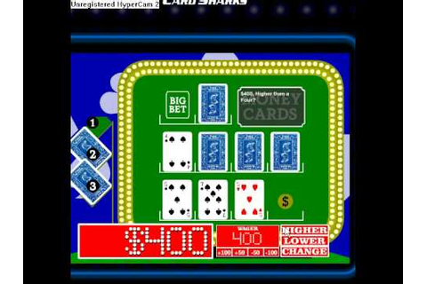 Me on the online version of Card Sharks CBS Version - YouTube