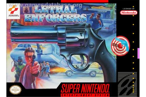 Lethal Enforcers - Nintendo SNES - Games Database