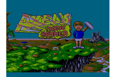 Axel's Magic Hammer Download (1990 Amiga Game)
