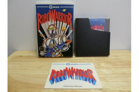 RoboWarrior Complete for Nintendo NES Robo Warrior Game ...