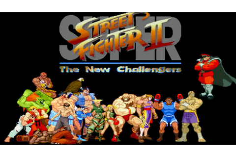 Super Street Fighter II: The New Challengers Arcade / All ...