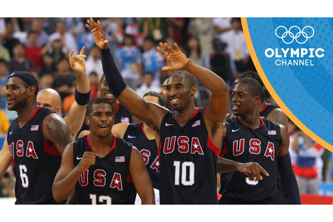 Best of Team USA Basketball at the Olympic Games! - YouTube