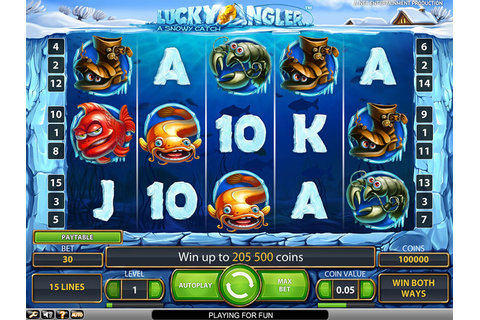 Lucky Angler Slot Machine Game - Free Play | DBestCasino.com