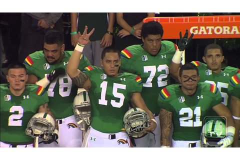 "Hawaii Football Tribute to Willis Wilson - ""Missing ..."