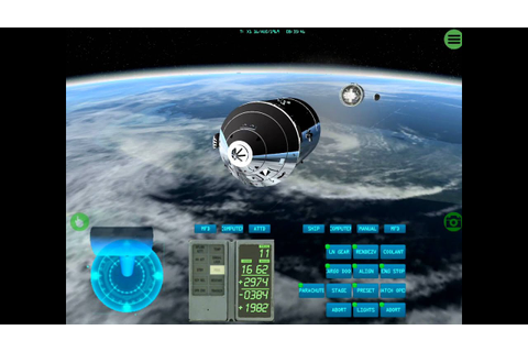 iOS Space Simulator - Apollo & Space Shuttle On iPad - YouTube