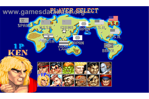 Street Fighter II': Champion Edition - Arcade - Games Database