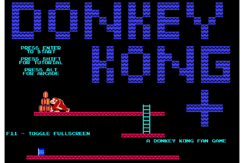 Indie Retro News: Donkey Kong Plus - A fan game based on ...