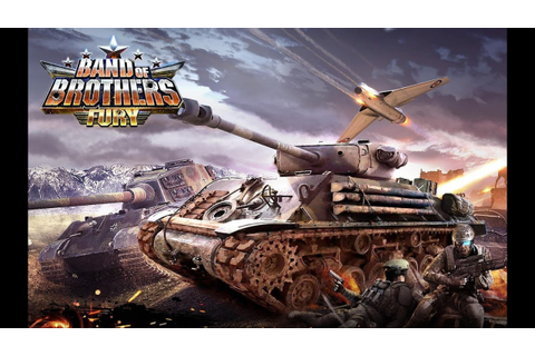 Band of Brothers: Fury Tank android game first look ...