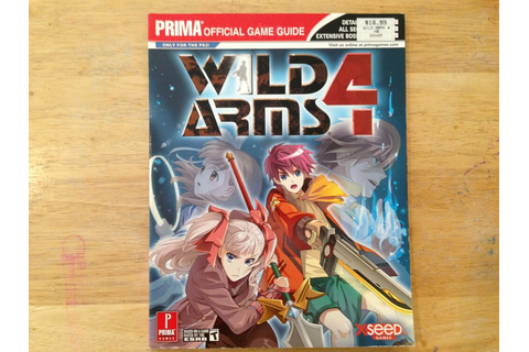 Prima Wild Arms 4 Playstation 2 PS2 Xbox Official Strategy ...