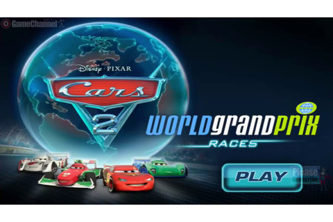 Cars 2 World Grand Prix Race Games / Children / Disney ...